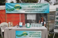 The sales department in action ... Natur' Avignon trade fair 2012